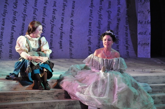 He's a Very Nice Prince - Shannon Lee Jones and McCaela Donovan at Reagle Music Theatre Goes 'Into the Woods' with Rachel York