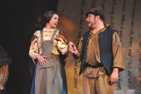 It Takes Three - Shannon Lee Jones and Douglas Jabara at Reagle Music Theatre Goes 'Into the Woods' with Rachel York