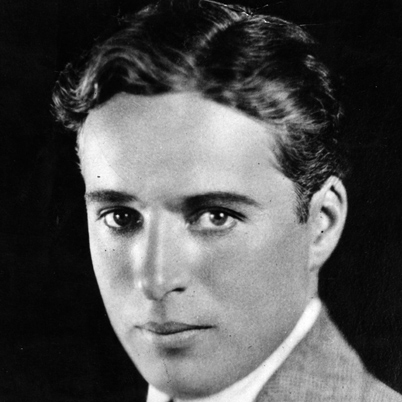Charlie Chaplin Headshot at