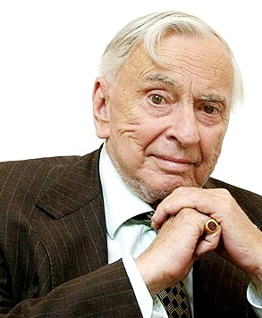 Gore Vidal Headshot at