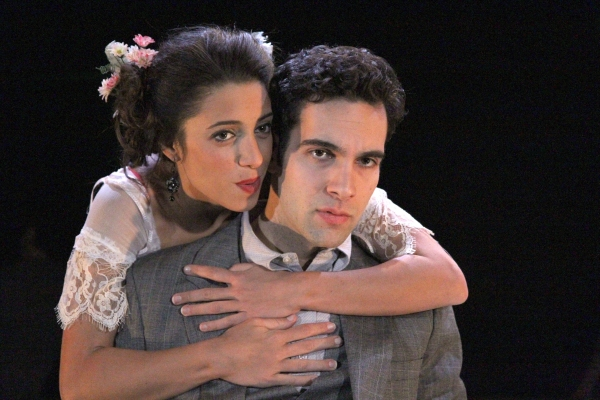 Christina Broccolini (Sybil) and Wil Petre (Dorian Gray)
