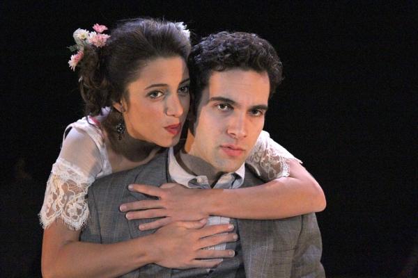 Christina Broccolini (Sybil) and Wil Petre (Dorian Gray)