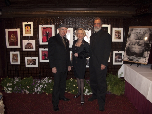 Photographer Bill Dow, Tippi Hedren and Shambala Director Chris Gallucci