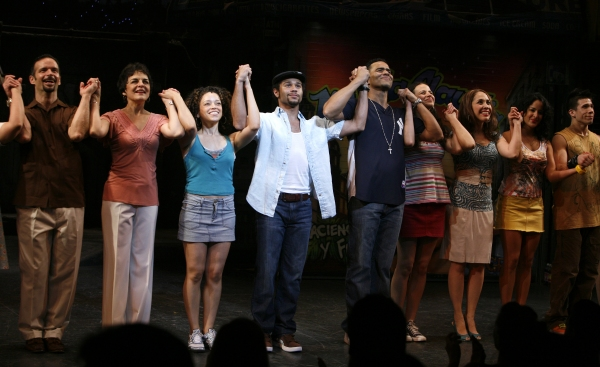 Corbin Bleu and the Cast of IN THE HEIGHTS!