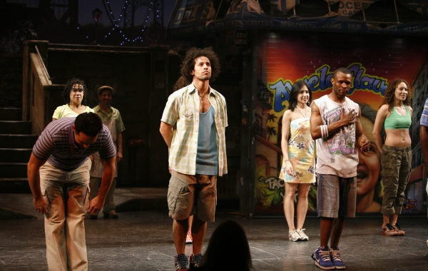 Photo Coverage: Corbin Bleu's First IN THE HEIGHTS Curtain Call