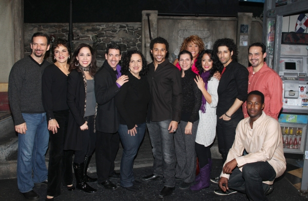 Backstage with Corbin Bleu at IN THE HEIGHTS