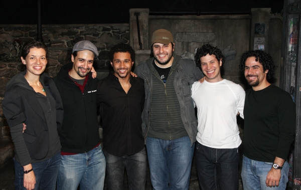 3 at Backstage with Corbin Bleu at IN THE HEIGHTS