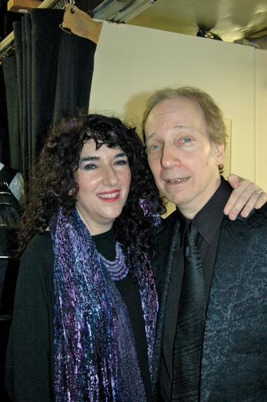 Barbara Siegal and Scott Siegal (Creator and Producer of tonights show)
