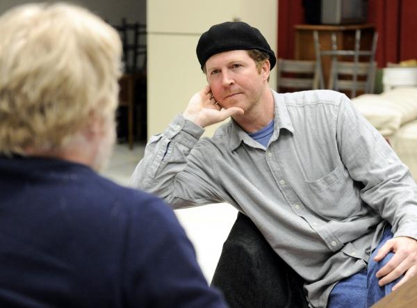 Playwright Brett C. Leonard