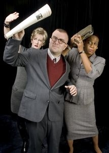 Candace Vance, David Dorrian and Faith Russell