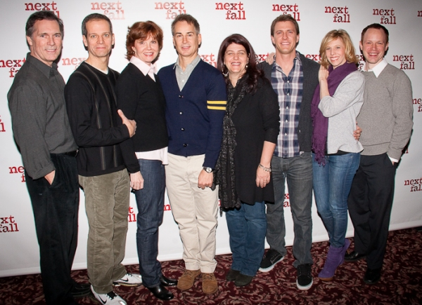 Photo Coverage: NEXT FALL Meets the Press