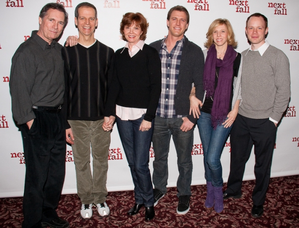 Cotter Smith, Patrick Breen, Connie Ray, Patrick Heusinger, Maddie Corman, and Sean Dugan