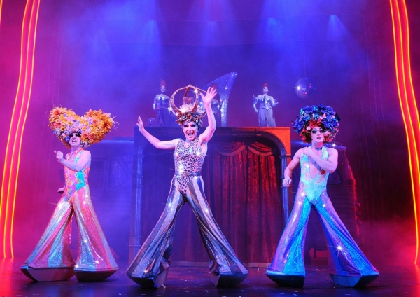 Jason Donovan, Tony Sheldon, and Oliver Thornton at West End PRISCILLA; Broadway Bound in 2011