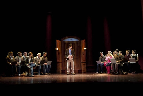 Alex Gaumond and the Cast of LEGALLY BLONDE at LEGALLY BLONDE Plays the West End - New Production Shots
