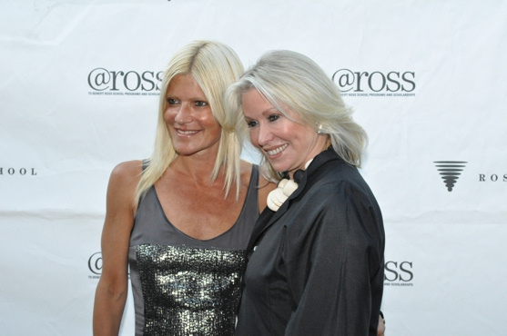 Lizzie Grubman and Courtney Ross