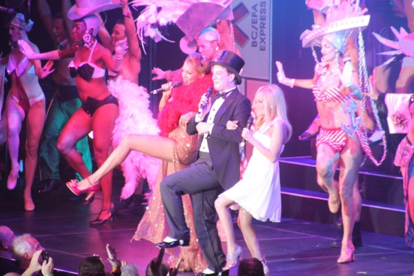 Photo Coverage: BROADWAY BARES XX: STRIP-OPOLY Opening Number