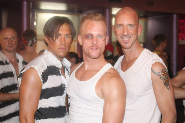 Ryan Rubek, Andrew Glaszek and Steve Bratton