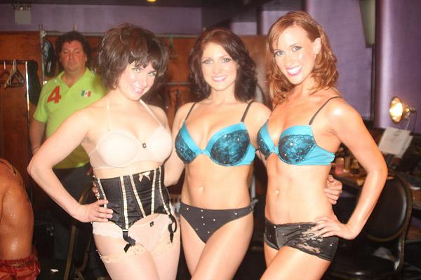 Valerie Salgado, Denise Marie Miller and Sarah Kay Marchetti