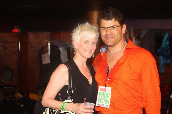 Rhonda Miller and Peter Gregus