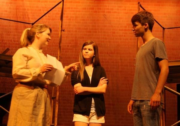 Shannon Ballou, Kelly Whelan and Luke Doyle