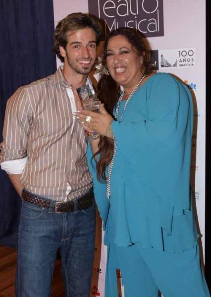 Nuestro presentador Sergio Sansegundo y Eva Diago