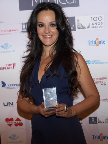 Fanny Alcázar at Premios Teatro Musical 2010 - Los Ganadores