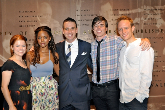 Cary Michele Miller, Krystal Joy Brown, Barry Wyner, David Hull and Aron Accurso