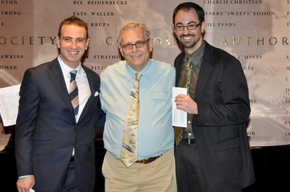 Barry Wyner, Richard Maltby, Jr. and Peter Mills at 20th Annual Kleban Awards