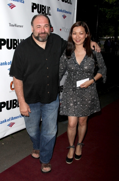 James Gandolfini and wife Deborah Lin