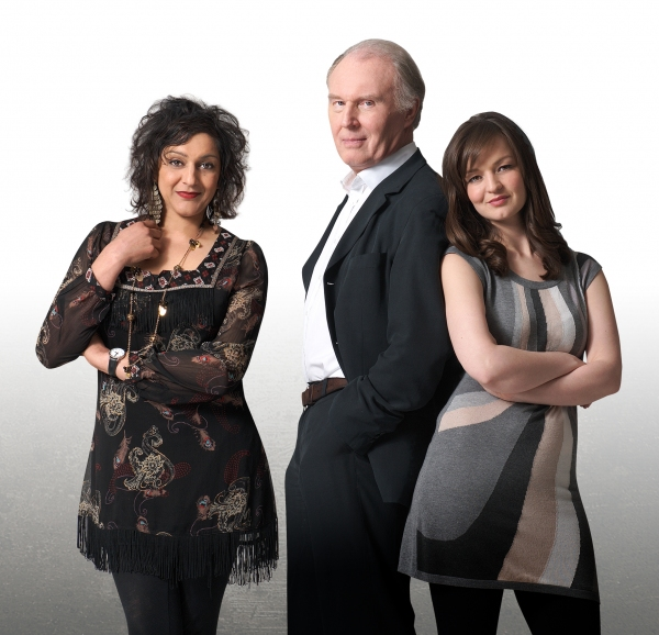 Meera Syal, Tim Pigott-Smith & Laura Dos Santos