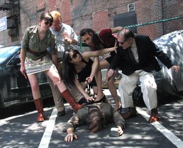 Marianna Caldwell (conspirator), Jarad Benn (conspirator), Ivory Aquino (Marc Antony), Hamilton Clancy (Caesar), Selene Beretta (Cassius), Bill Green