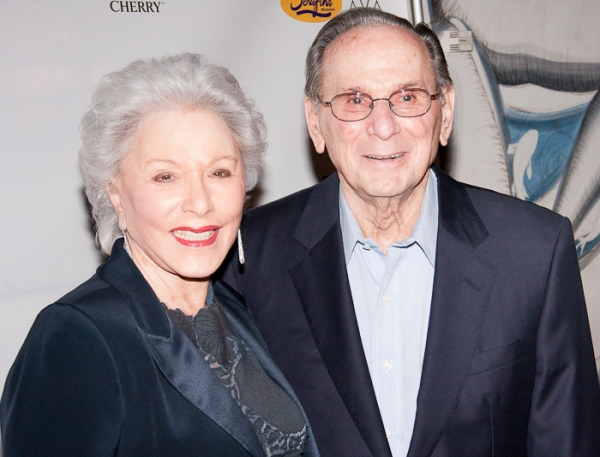Eunice David and Hal David