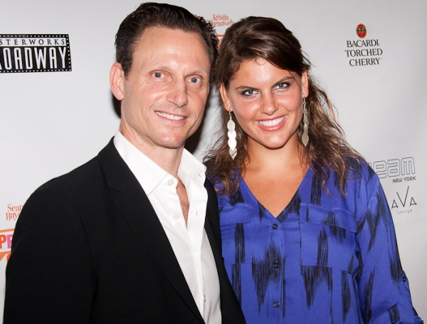 Tony Goldwyn and Anna Goldwyn