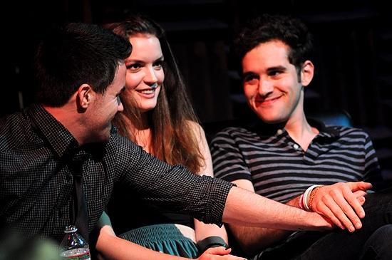 Brian Crum, Jennifer Damiano & Adam Chanler-Berat