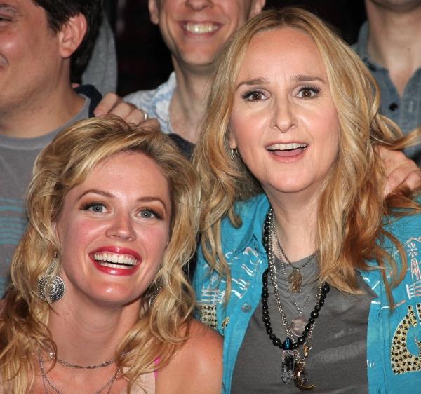 Photo Coverage: Backstage at MILLION DOLLAR QUARTET with Melissa Etheridge!