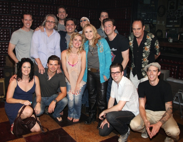 Photo Coverage: Backstage at MILLION DOLLAR QUARTET with Melissa Etheridge!