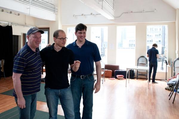 Andrew Kato, director John Carrafa, and Writer John Mercurio