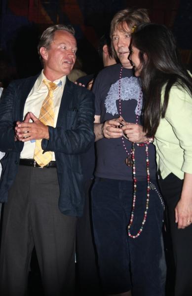 John Savage, James Rado and Diane Paulus