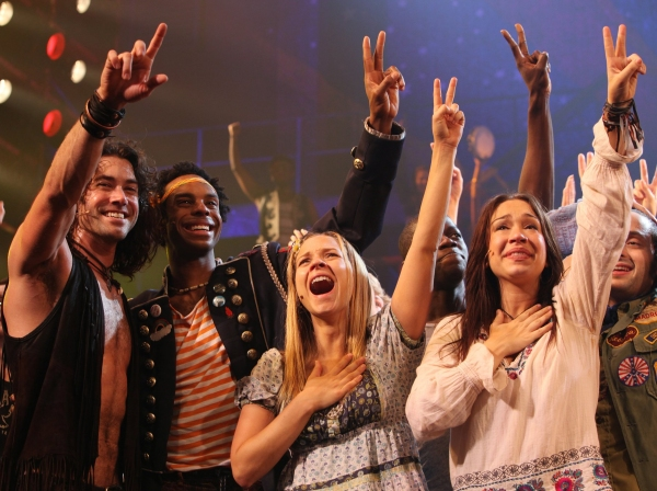 Photo Coverage: HAIR Closes on Broadway