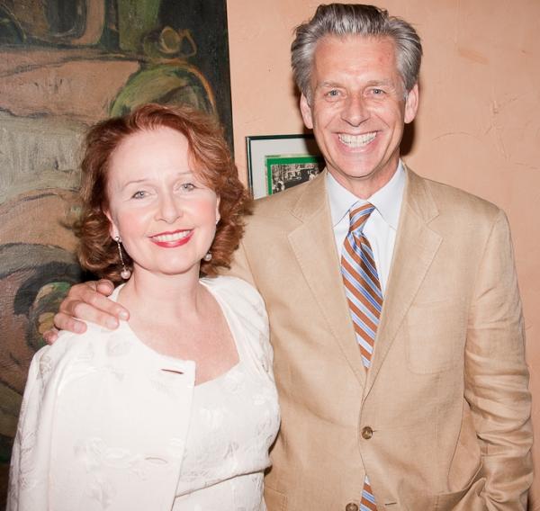 Kate Burton and Michael Richie