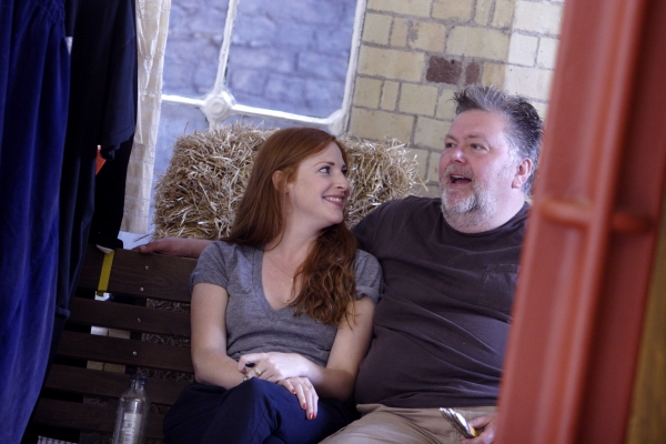 Photo Flash: ASPECTS OF LOVE in Rehearsal at Menier Chocolate Factory