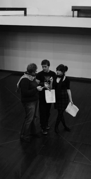 Cassandra Backler, Ronald Densely and Sarah Agius