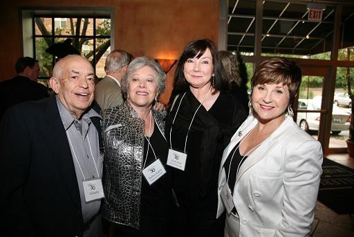 Ed and Barbara Kaplan, Karen Muth and Megan McDonough