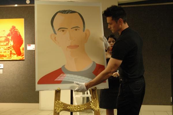 Photo Flash: Art Project LA Celebrity Art Auction