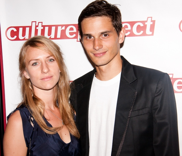 Mickey Sumner and guest at Sting & Styler Lead 'Twin Spirits' for Culture Project