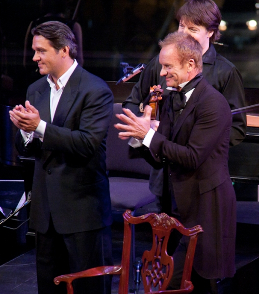Nathan Gunn, Joshua Bell, and Sting at Sting & Styler Lead 'Twin Spirits' for Culture Project
