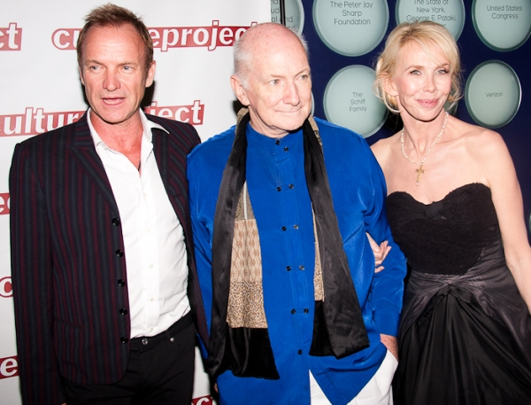 Sting and Allan Buchman