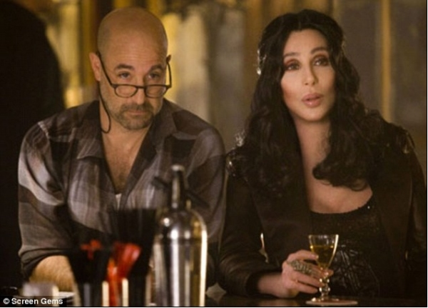 Stanley Tucci and Cher