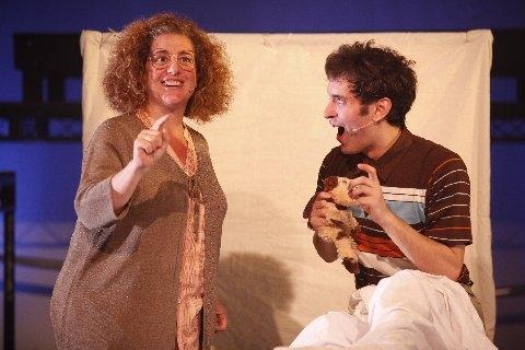 Mary Testa and Jacob Hoffman