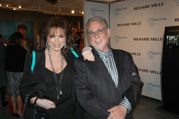 Jackie Collins and Barry Krost